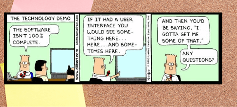 software comic