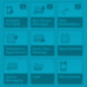 Take Care Health Mobile App Dashboard