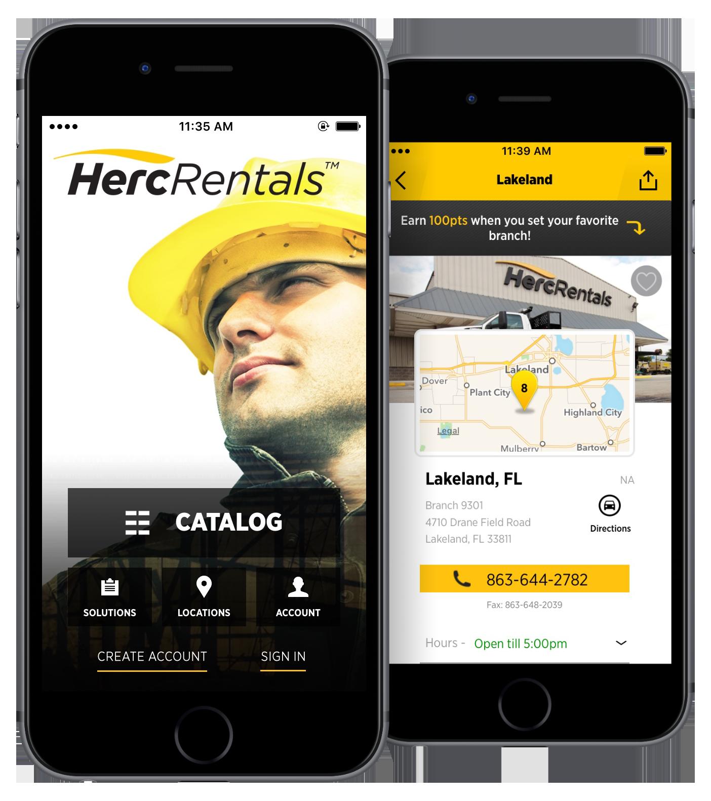 Hertz Equipment Rental Mobile App Sets New Standard